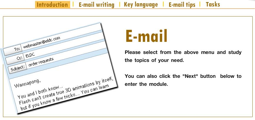 how to teach email writing