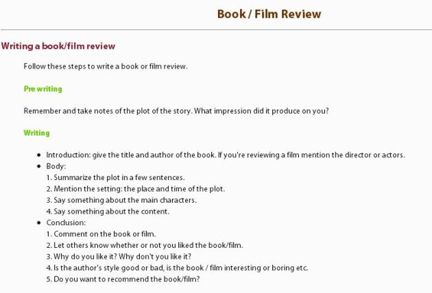 how to write a movie review Not sure how to write a movie review order a top notch movie review following your custom instructions overnight delivery plagiarism free.