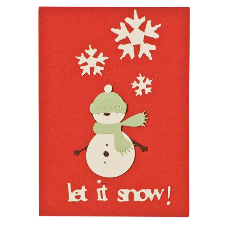Christmas Cards Using Recycled Materials
